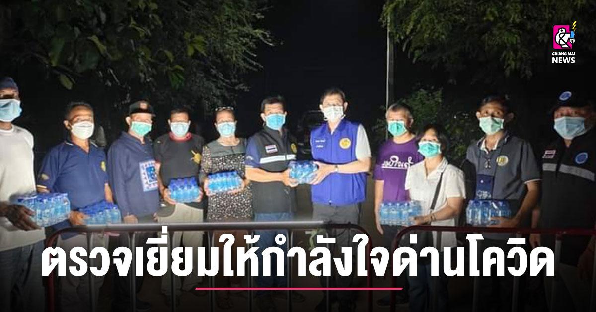 นอภ.ภูซาง ตรวจเยี่ยมให้กำลังใจผู้ปฏิบัติงาน หลังพบผู้ติดเชื้อเชื่อมโยงผู้ป่วย จ.เชียงราย กักตัวกลุ่มเสี่ยงสูงกว่า 30 ราย thumbnail